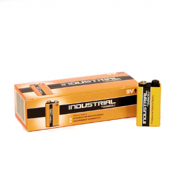 Duracell Industrial ID1604 PP3 Batteries (Box of 10)